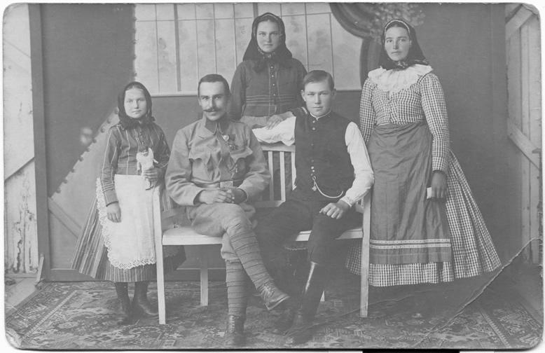 Familie K., 1916